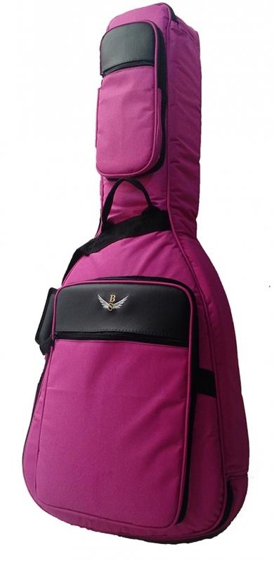 Bag de Violão Infantil Folk Tanquinho - Bag para Violão Flat