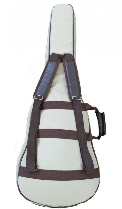 Bag para Violão Infantil Juquiratiba - Bag Violão Flat