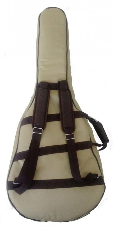 Bag Violão Folk Atibaia - Bag para Violão Flat
