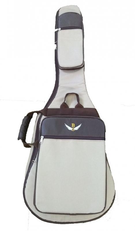 Bag Violão Infantil Valor Artur Nogueira - Bag para Violão Flat