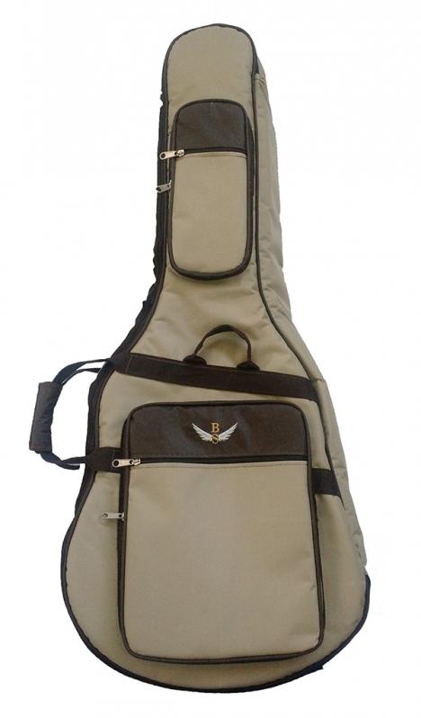 Bag Violão Jumbo Mauá - Bag para Violão Flat