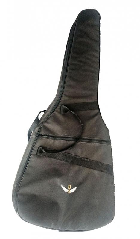 Capa de Violão Acolchoada Pindamonhangaba - Capa de Violão Acolchoada