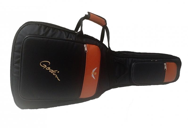 Capa de Violão Almofadada Personalizada Porto Feliz - Capa Personalizada Violão