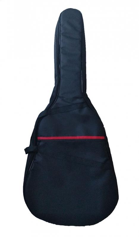 Capa para Violão Folk Acolchoada Onde Compro Votuporanga - Capa para Violão Folk