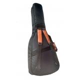 bag violão flat Poá