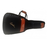capa de violão almofadada personalizada Praia Grande