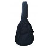 capa para violão folk acolchoada