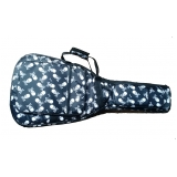 empresa de capa de violão almofadada personalizada Mendonça