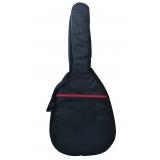 loja de capa de violão clássico almofadada Canguera